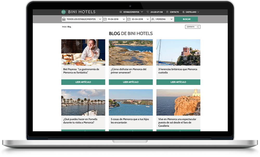 Blog de Binihotels Menorca