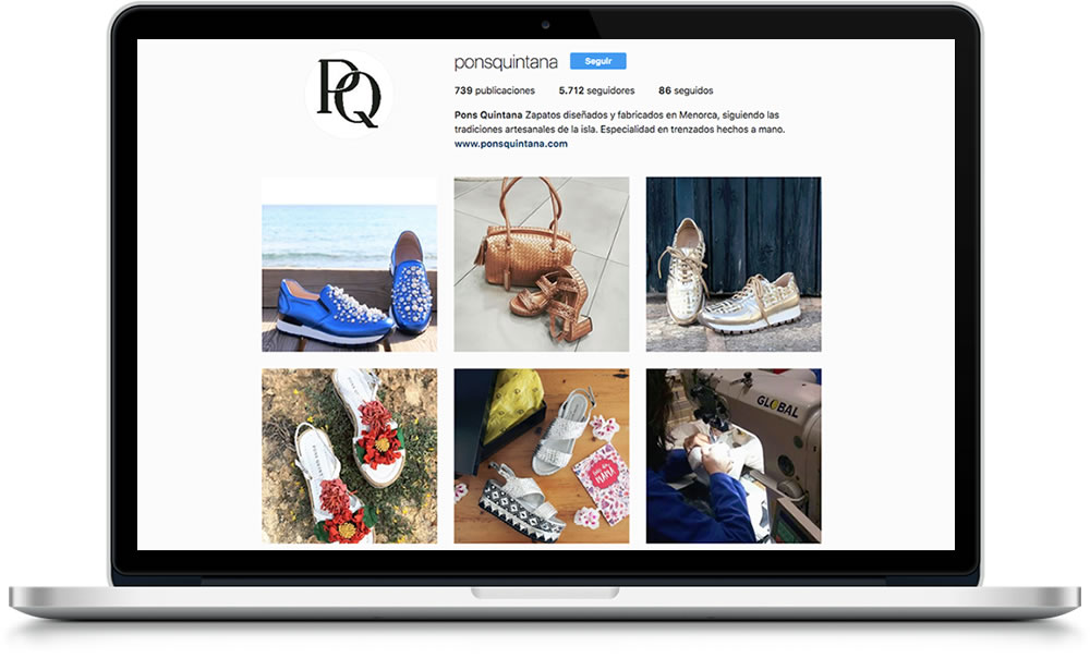 Instagram de Pons Quintana